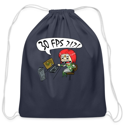 30 FPS iPad Case - Cotton Drawstring Bag