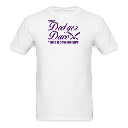 Men's Baseball Tee TDD Nblue - Men's T-Shirt