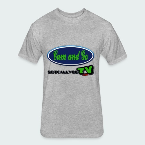 Cum & Go - Fitted Cotton/Poly T-Shirt by Next Level