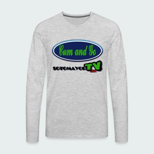 Cum & Go - Men's Premium Long Sleeve T-Shirt