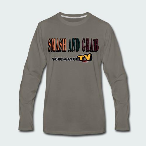 Smash & Grab - Men's Premium Long Sleeve T-Shirt