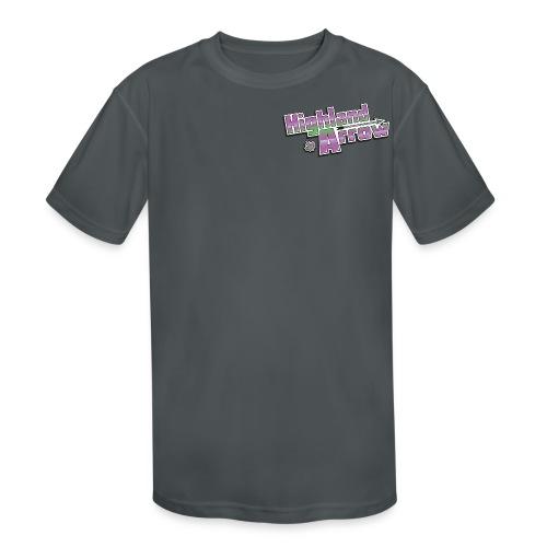 Men's HA Logo Tee - Kids' Moisture Wicking Performance T-Shirt