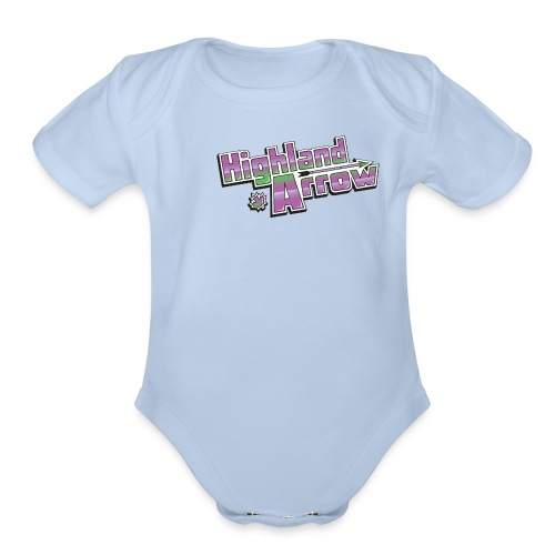 Men's HA Logo Tee - Organic Short Sleeve Baby Bodysuit