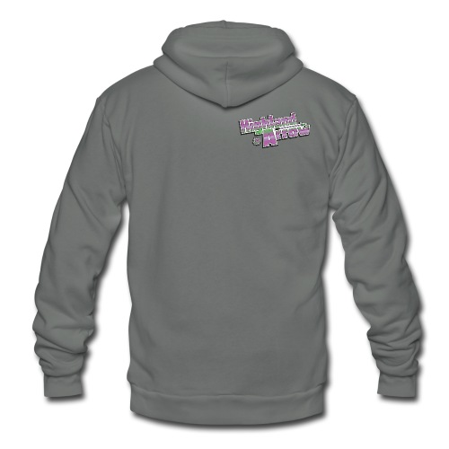 Men's HA Logo Tee - Unisex Fleece Zip Hoodie