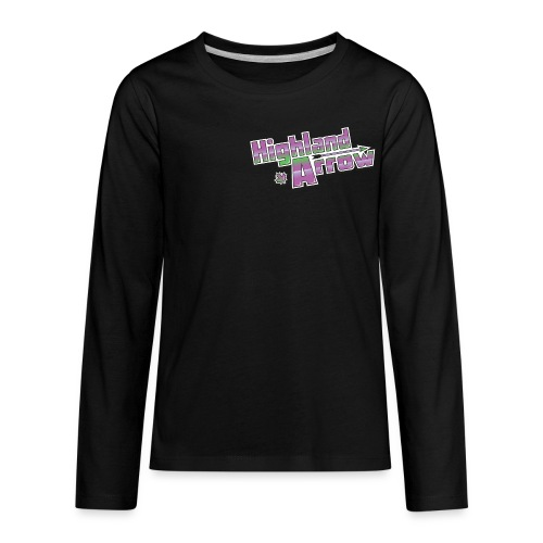Men's HA Logo Tee - Kids' Premium Long Sleeve T-Shirt