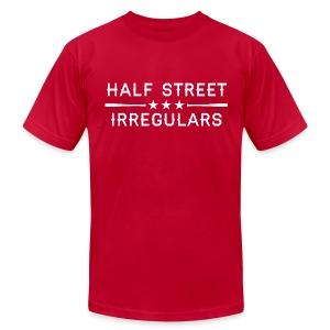 HSI Industrial - Men's Red Sweatshirt - Men's Fine Jersey T-Shirt