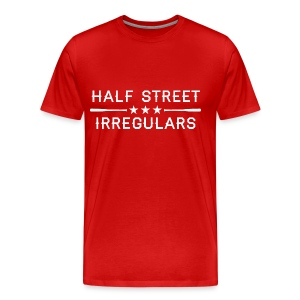 HSI Industrial - Men's Red Sweatshirt - Men's Premium T-Shirt