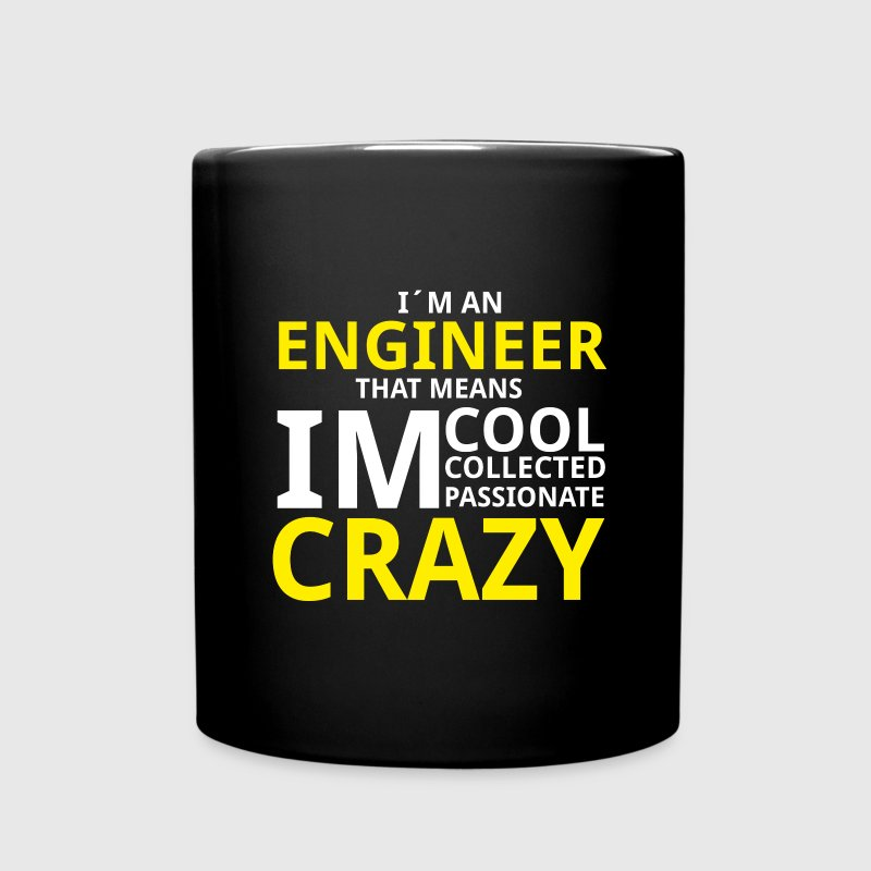 Crazy Engineer Mugs & Drinkware - Full Color Mug
