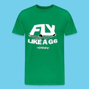 Fly Like a G-6 Men's Tee - Men's Premium T-Shirt