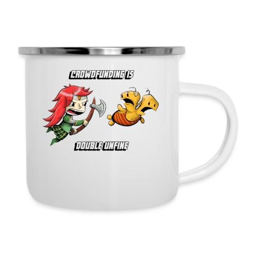 Women's Double Unfine Tee - Camper Mug