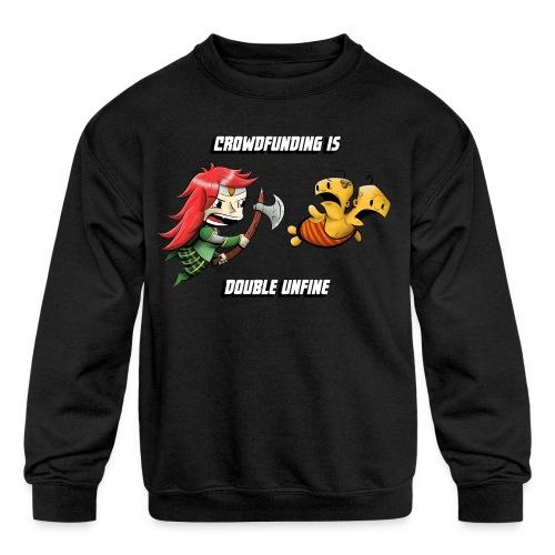 Women's Double Unfine Tee - Kids' Crewneck Sweatshirt