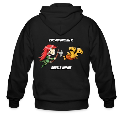 Women's Double Unfine Tee - Men's Zip Hoodie