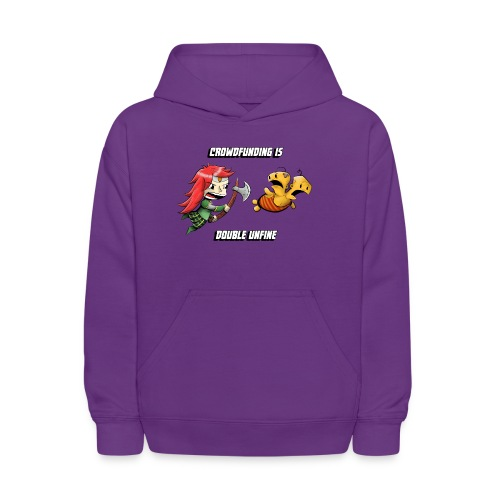 Women's Double Unfine Tee - Kids' Hoodie