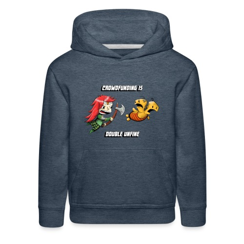 Women's Double Unfine Tee - Kids' Premium Hoodie