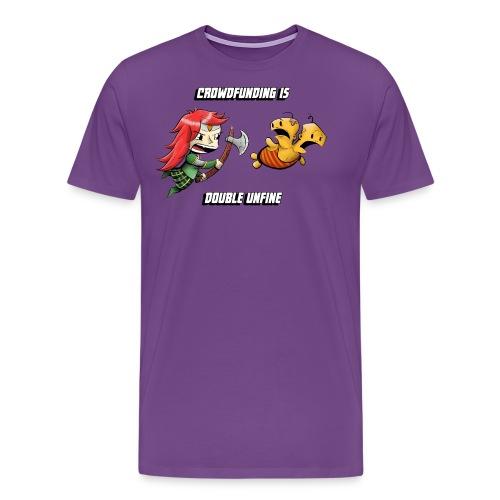 Women's Double Unfine Tee - Men's Premium T-Shirt