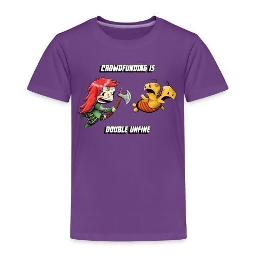 Women's Double Unfine Tee - Toddler Premium T-Shirt