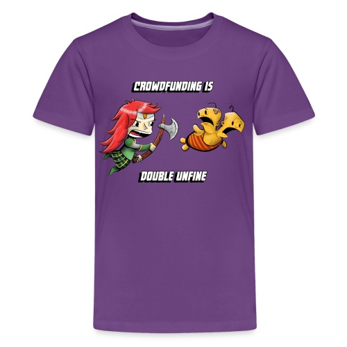Women's Double Unfine Tee - Kids' Premium T-Shirt