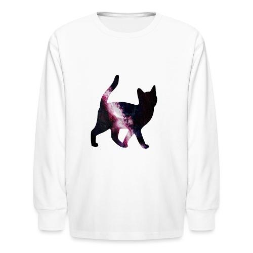GalaxyCat - Kids' Long Sleeve T-Shirt