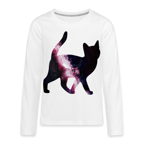 GalaxyCat - Kids' Premium Long Sleeve T-Shirt