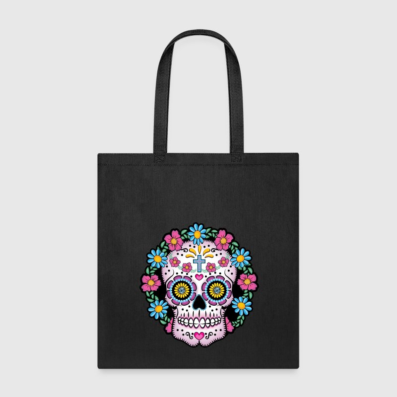 Dia de los Muertos Sugar Skull Bags & backpacks - Tote Bag