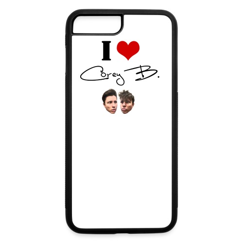 I Love Corey B Buttons - iPhone 7 Plus/8 Plus Rubber Case
