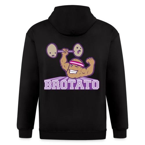 Brotato (Premium Quality) - Men's Zip Hoodie