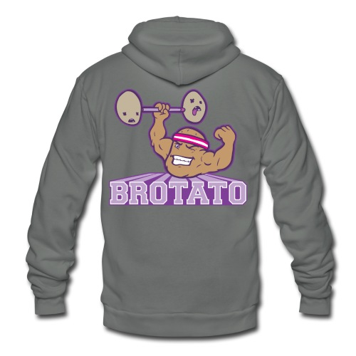Brotato (Premium Quality) - Unisex Fleece Zip Hoodie