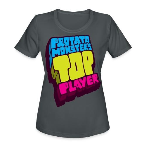Top Player (Premium Quality) - Women's Moisture Wicking Performance T-Shirt