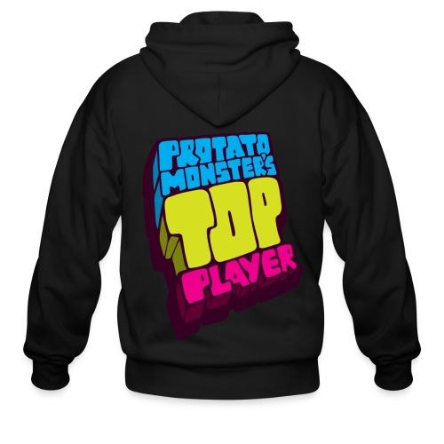 Top Player (Premium Quality) - Men's Zip Hoodie
