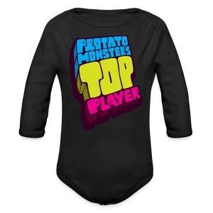 Top Player (Premium Quality) - Long Sleeve Baby Bodysuit