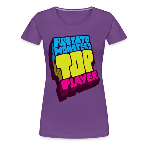 Top Player (Premium Quality) - Women's Premium T-Shirt