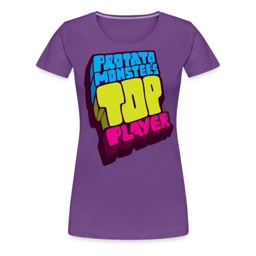 Top Player (Premium Quality) - Women's Premium T-Shirt
