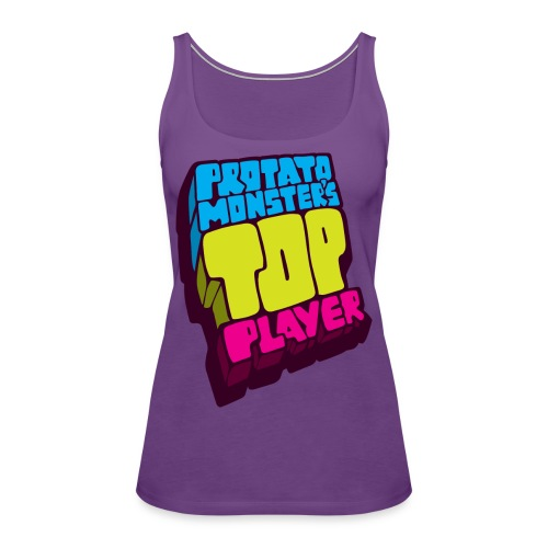 Top Player (Premium Quality) - Women's Premium Tank Top
