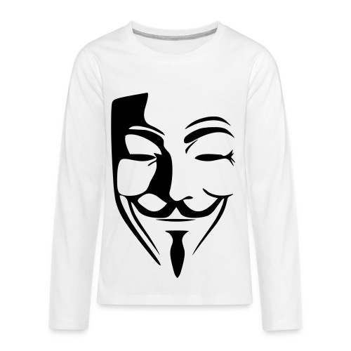 Anonymous Kid T-shirt  - Kids' Premium Long Sleeve T-Shirt