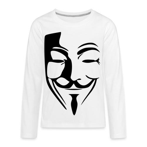 Anonymous Kid T-shirt  - Kids' Premium Long Sleeve T-Shirt