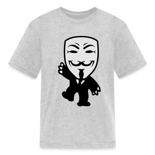 Anonymous Kid hoodie - Kids' T-Shirt