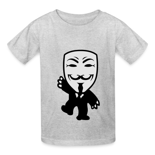 Anonymous Kid hoodie - Kids' T-Shirt