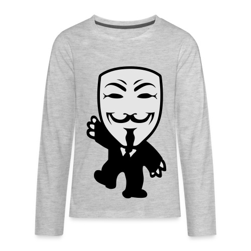 Anonymous Kid hoodie - Kids' Premium Long Sleeve T-Shirt