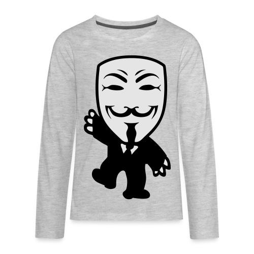 Anonymous Kid hoodie - Kids' Premium Long Sleeve T-Shirt
