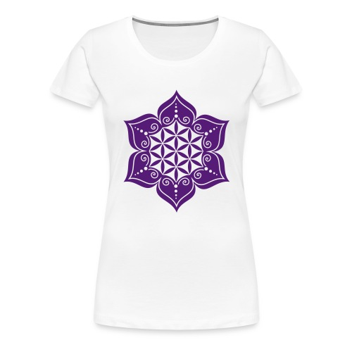 Flower of Life - Women - Women's Premium T-Shirt