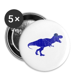 North Side T-Rex - Small Buttons