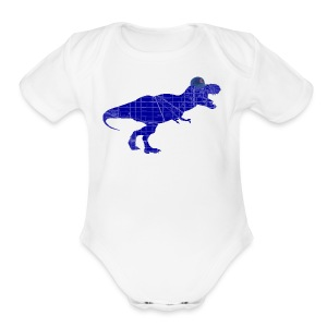 North Side T-Rex - Short Sleeve Baby Bodysuit