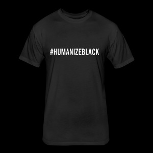 HUMANIZE BLACK ORIGINAL TEE  - Fitted Cotton/Poly T-Shirt by Next Level