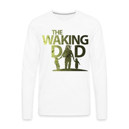 the walking dad - Men's Premium Long Sleeve T-Shirt