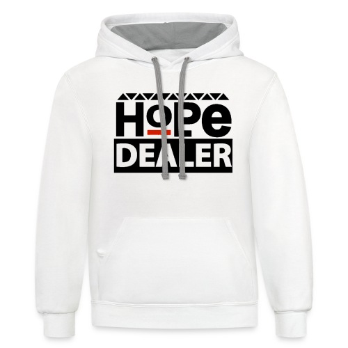 Men's Hope Dealer Tee - Contrast Hoodie