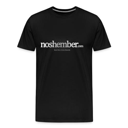 Real Men Grow Beards Dudes T - Men's Premium T-Shirt