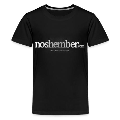 Real Men Grow Beards Dudes T - Kids' Premium T-Shirt