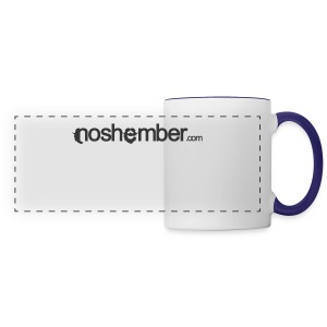 Noshember Dudes T - Panoramic Mug