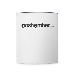 Noshember Dudes T - Contrast Coffee Mug