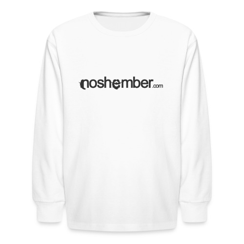Noshember Dudes T - Kids' Long Sleeve T-Shirt